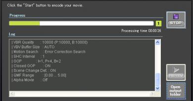 Sofdec2 Encoding Wizard
