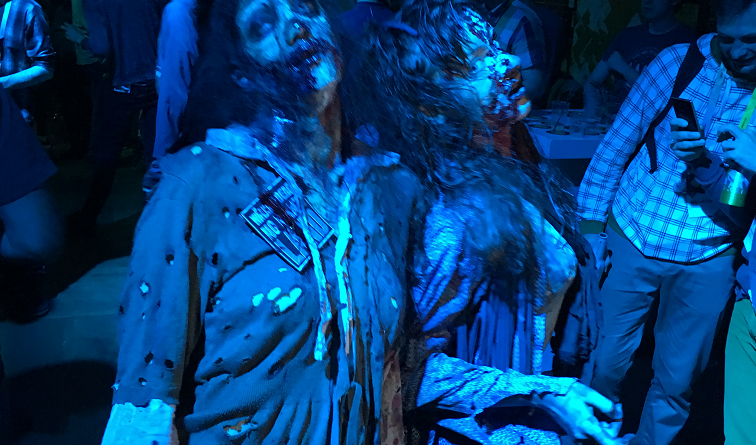 More zombies, more party...