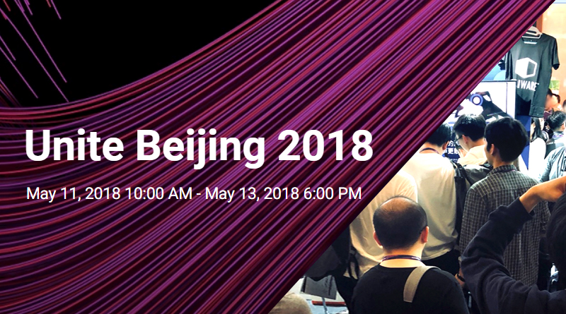 We were at Unite Beijing 2018!