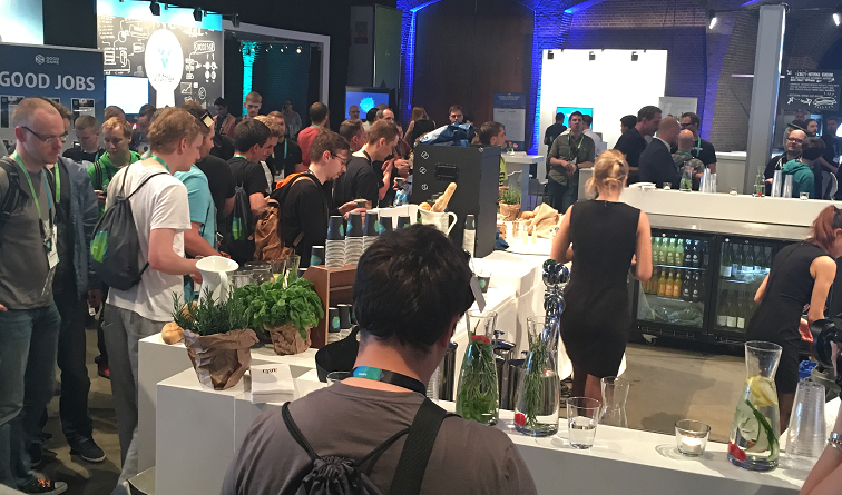 Food and drink stations