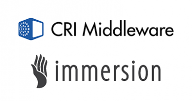 CRI Middleware and Immersion