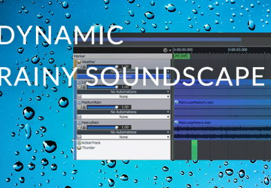 Creating a Dynamic Rainy Soundscape with ADX2