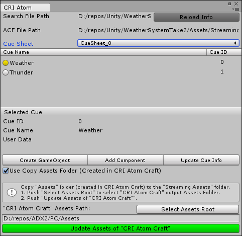 Controlling Lighting in Unity with Data from ADX2 | CRI Middleware Blog