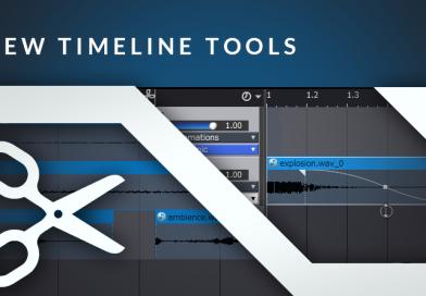 New Timeline Tools