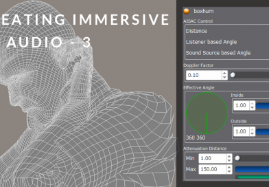 Creating Immersive 3D Audio with ADX2 and Unity: Part 3