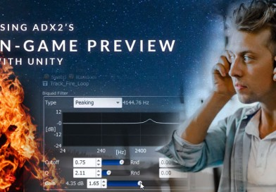 Using ADX2's In-Game Preview with Unity