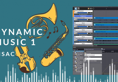 Dynamic Music with ADX2 – Part1: Vertical Layering