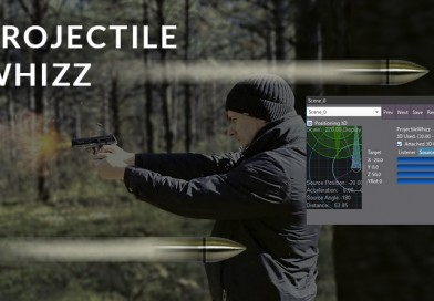 Creating a Projectile Whizz-By Effect in Atom Craft